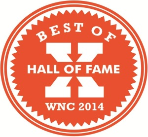 Best of WNC 2014 Orange Badge